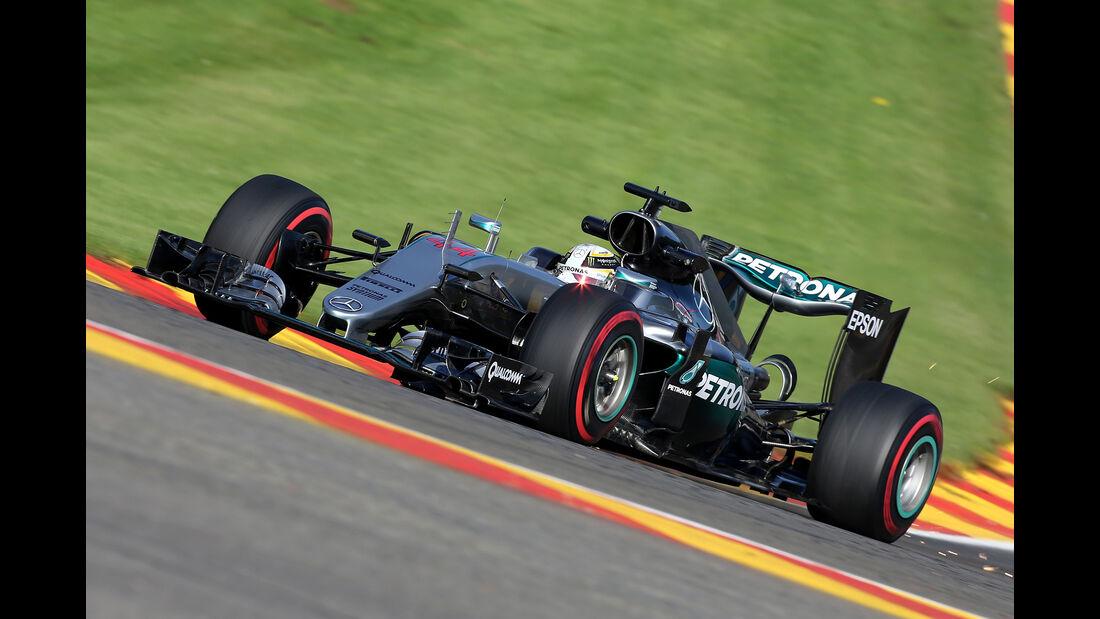 Lewis Hamilton - Mercedes - Formel 1 - GP Belgien - Spa-Francorchamps - 26. August 2016