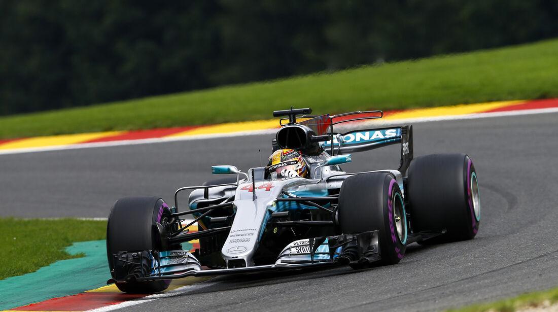 Lewis Hamilton - Mercedes - Formel 1 - GP Belgien - Spa-Francorchamps - 26. August 2017