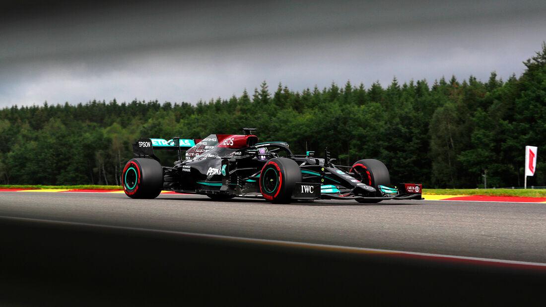 Lewis Hamilton - Mercedes - Formel 1 - GP Belgien - Spa-Francorchamps - 27. August 2021