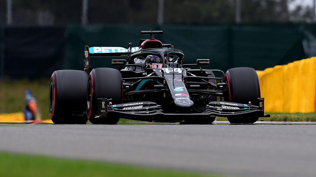 Lewis Hamilton - Mercedes - Formel 1 - GP Belgien - Spa-Francorchamps - 28. August 2020