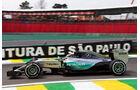 Lewis Hamilton - Mercedes - Formel 1 - GP Brasilien- 13. November 2015