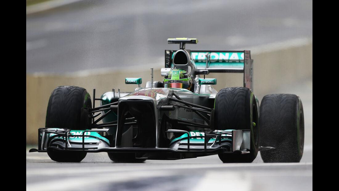 Lewis Hamilton - Mercedes- Formel 1 - GP Brasilien - 22. November 2013