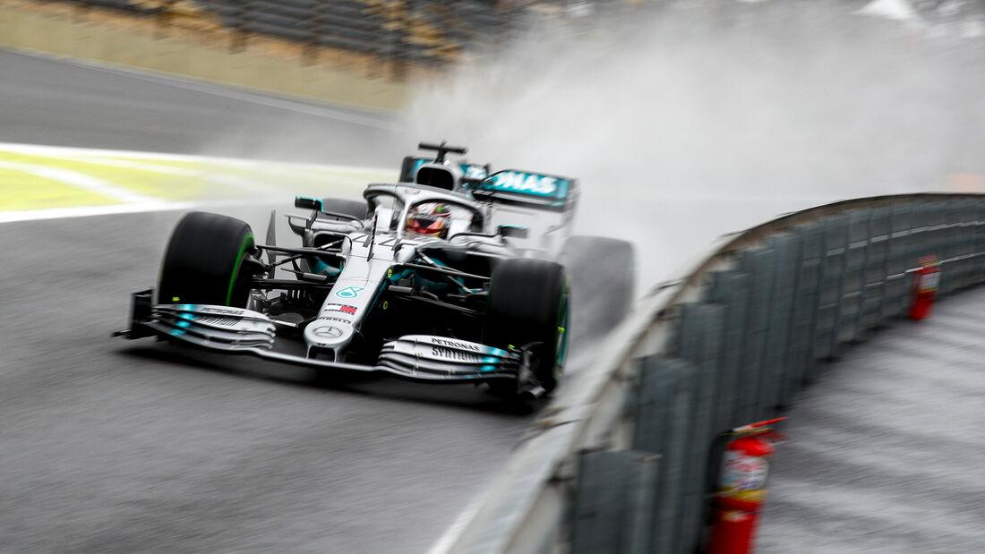 Lewis Hamilton - Mercedes - Formel 1 - GP Brasilien - Sao Paulo - 15. November 2019