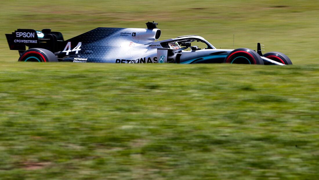 Lewis Hamilton - Mercedes - Formel 1 - GP Brasilien - Sao Paulo - 16. November 2019