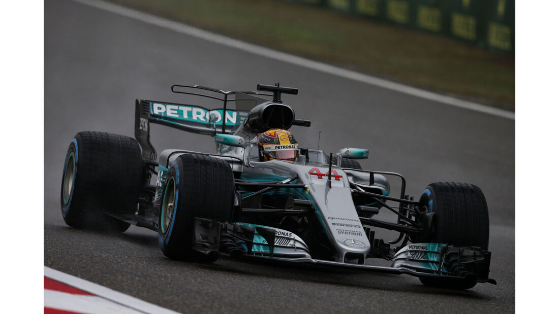 Lewis Hamilton - Mercedes - Formel 1 - GP China 2017 - Shanghai - 7.4.2017