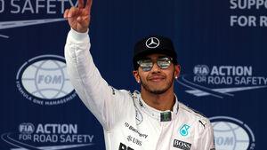 Lewis Hamilton - Mercedes - Formel 1 - GP China - Shanghai - 11. April 2015