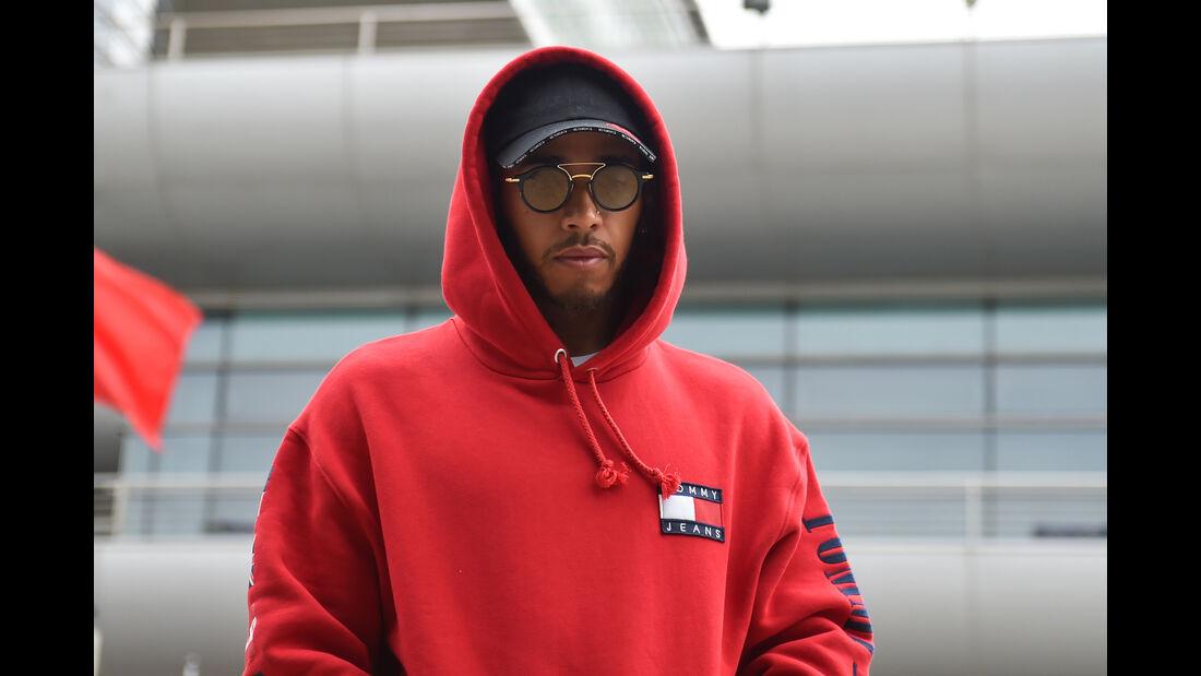Lewis Hamilton - Mercedes - Formel 1 - GP China - Shanghai - 12. April 2018