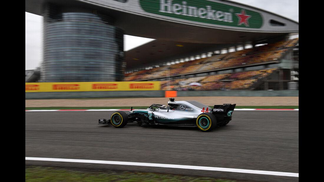 Lewis Hamilton - Mercedes - Formel 1 - GP China - Shanghai - 13. April 2017