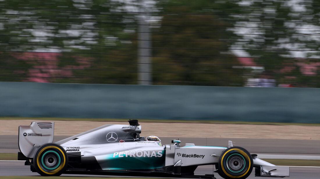 Lewis Hamilton - Mercedes - Formel 1 - GP China - Shanghai - 18. April 2014