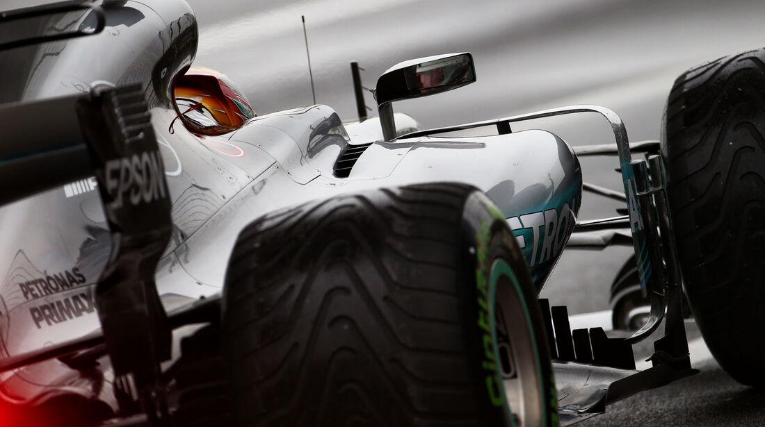 Lewis Hamilton - Mercedes - Formel 1 - GP China - Shanghai - 7.4.2017