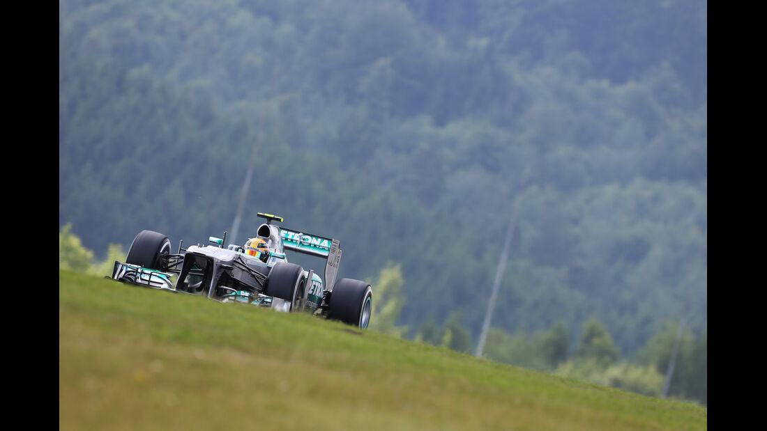 Lewis Hamilton - Mercedes - Formel 1 - GP Deutschland - 6. Juli 2013