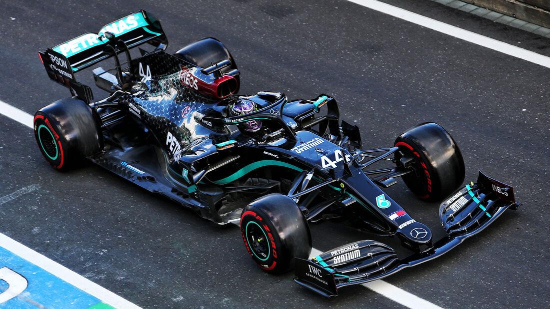 Lewis Hamilton - Mercedes - Formel 1 - GP Eifel - Nürburgring - Samstag - 10.10.2020