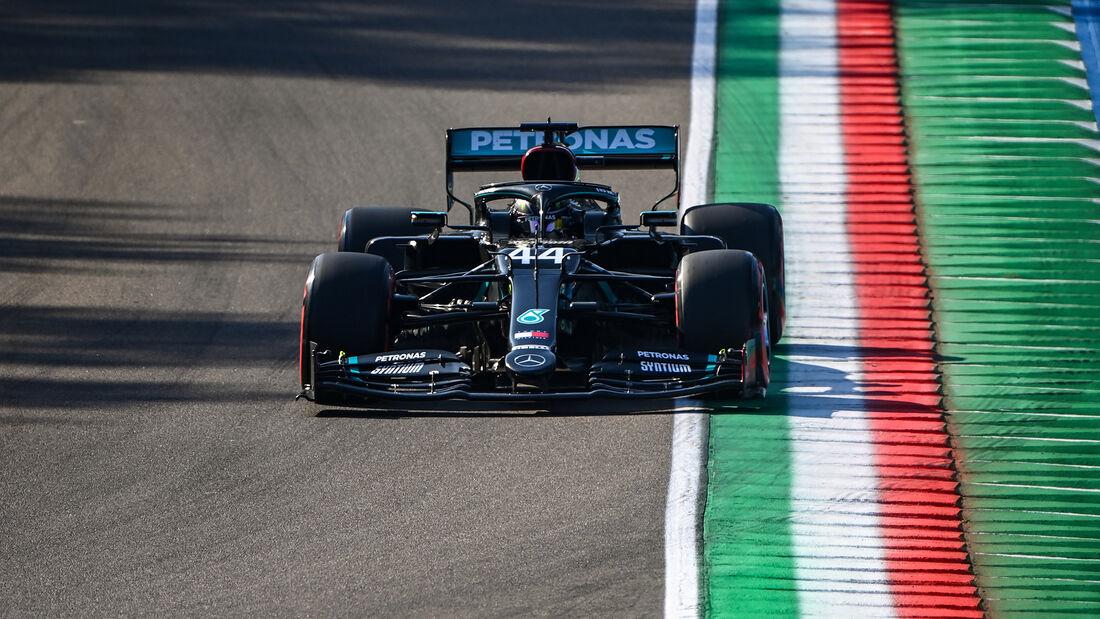 Lewis Hamilton - Mercedes - Formel 1 - GP Emilia-Romagna - Imola - Samstag - 31.10.2020