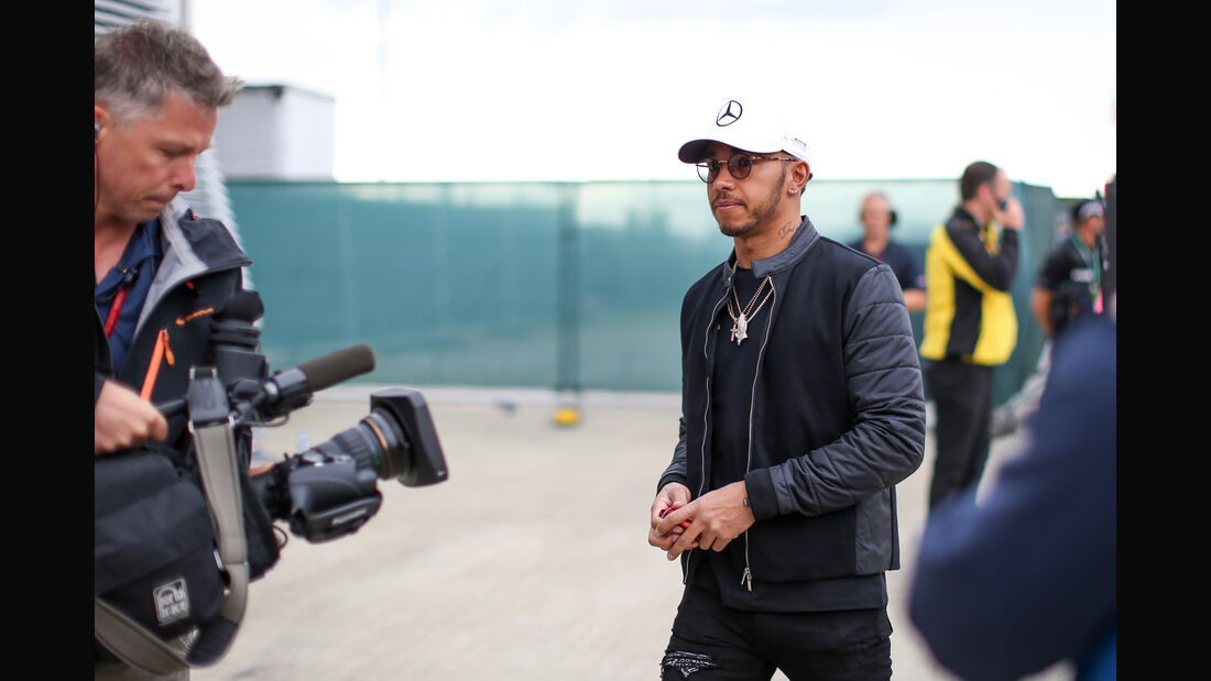 Lewis Hamilton - Mercedes - Formel 1 - GP England - 13. Juli 2017