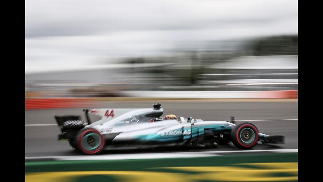 Lewis Hamilton - Mercedes - Formel 1 - GP England - 14. Juli 2017