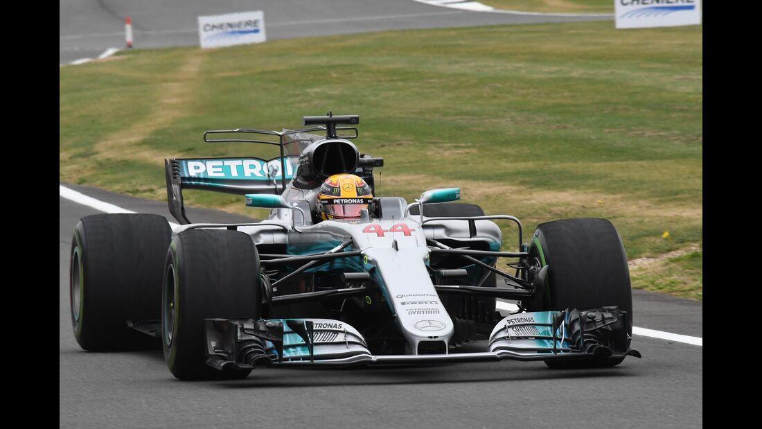 Lewis Hamilton - Mercedes - Formel 1 - GP England - 15. Juli 2017