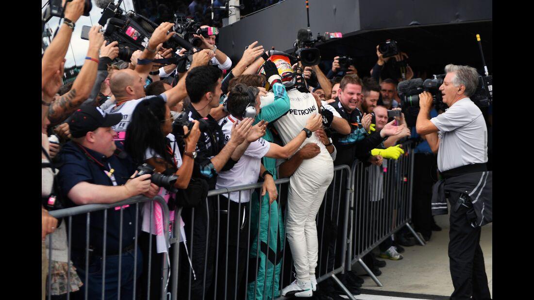 Lewis Hamilton - Mercedes - Formel 1 - GP England - 16. Juli 2017