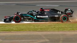 Lewis Hamilton - Mercedes - Formel 1 - GP England - Silverstone - 1. August 2020