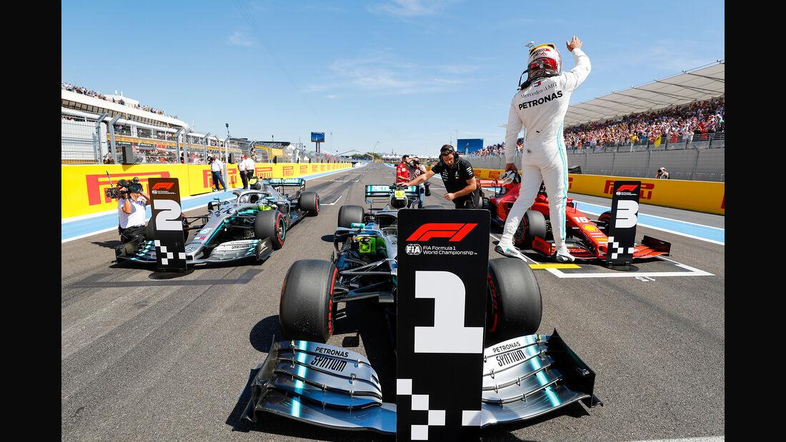 Lewis Hamilton - Mercedes - Formel 1 - GP Frankreich - 22. Juni 2019