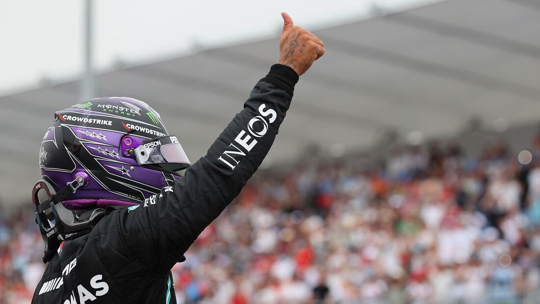 Lewis Hamilton - Mercedes - Formel 1 - GP Frankreich - Le Castellet - 19. Juni 2021