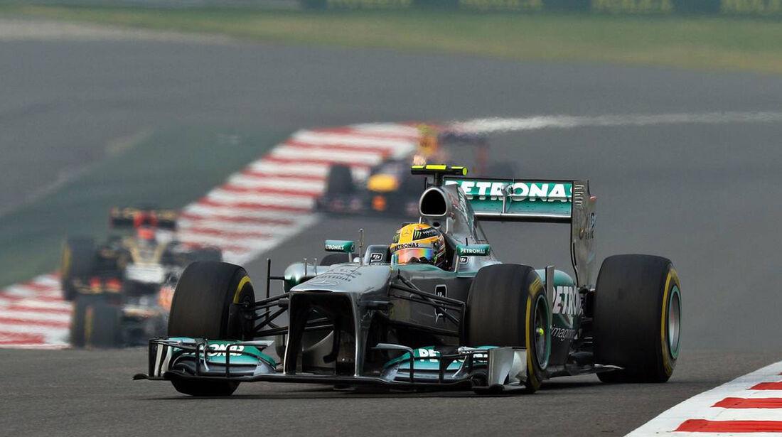 Lewis Hamilton - Mercedes - Formel 1 - GP Indien - 27. Oktober 2013