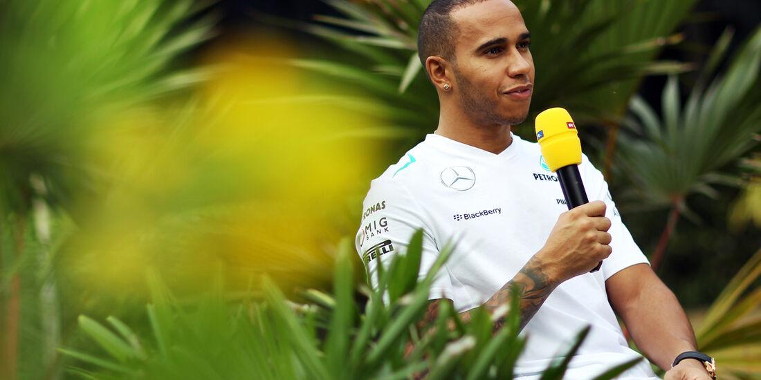 Lewis Hamilton - Mercedes - Formel 1 - GP Indien - Delhi - 24. Oktober 2013