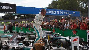 Lewis Hamilton - Mercedes - Formel 1 - GP Italien - 2. September 2018