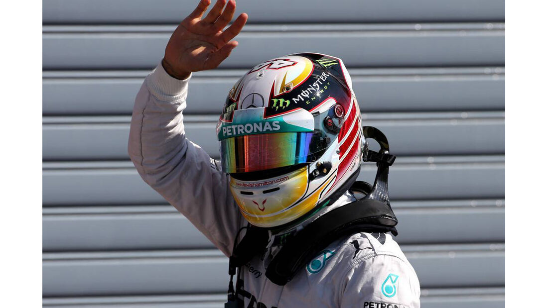 Lewis Hamilton - Mercedes - Formel 1 - GP Italien - 6. September 2014