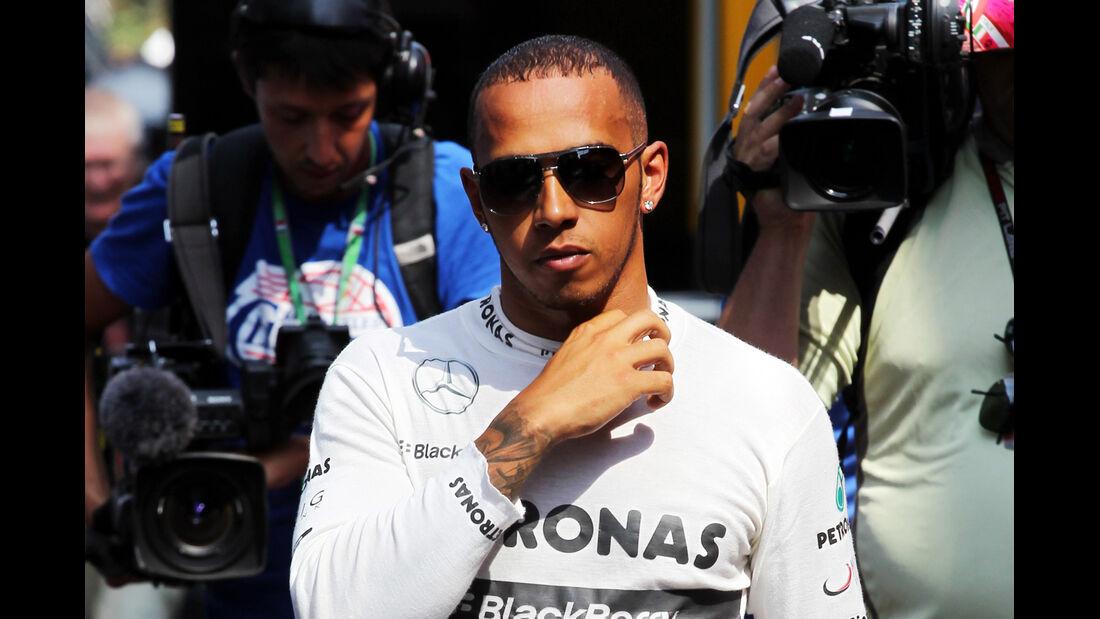 Lewis Hamilton - Mercedes - Formel 1 - GP Italien - 7. September 2013