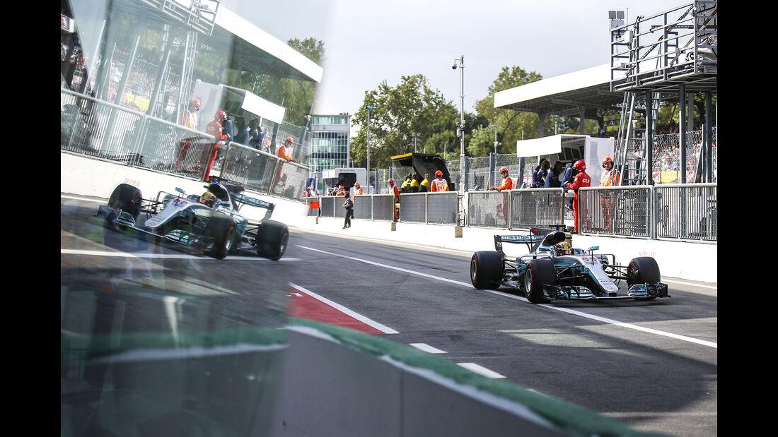 Lewis Hamilton - Mercedes - Formel 1 - GP Italien - Monza - 1. September 2017