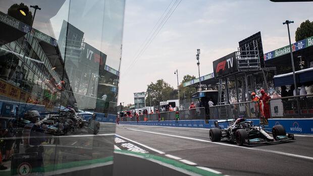 Lewis Hamilton - Mercedes - Formel 1 - GP Italien - Monza - 10. September 2021