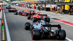 Lewis Hamilton - Mercedes  - Formel 1 - GP Italien - Monza - 7. September 2019