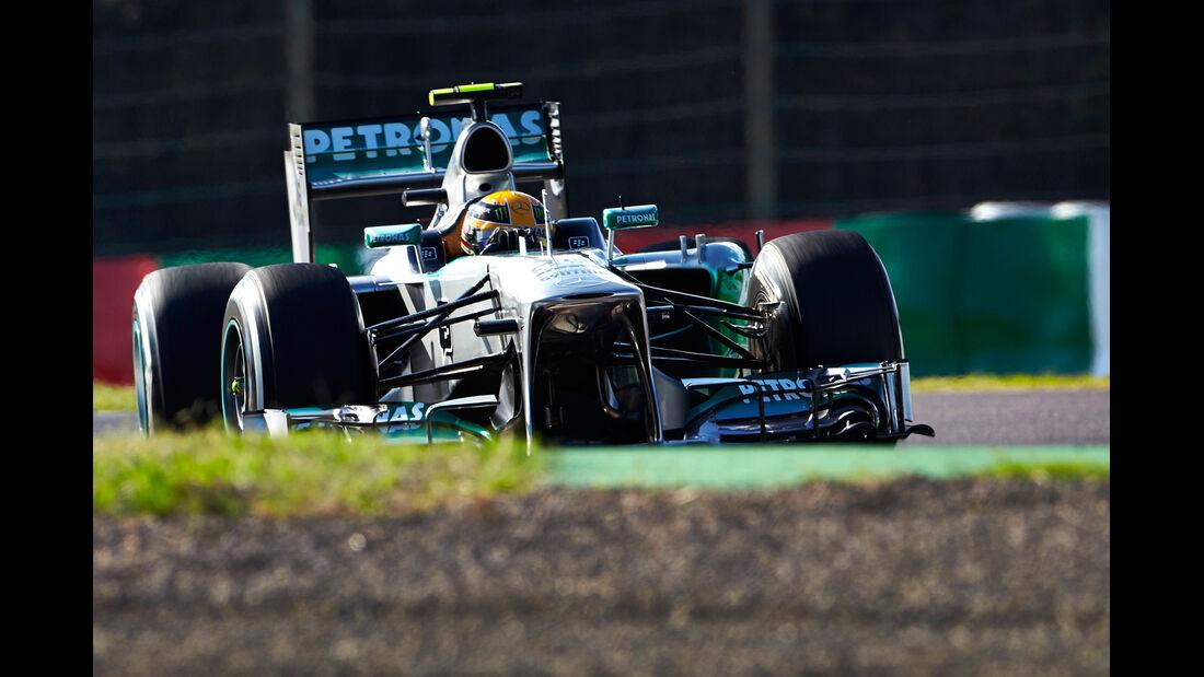Lewis Hamilton - Mercedes - Formel 1 - GP Japan - 12. Oktober 2013