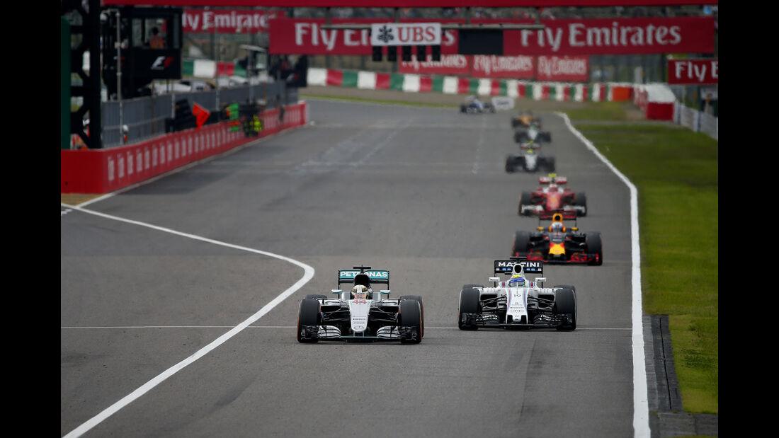 Lewis Hamilton - Mercedes - Formel 1 - GP Japan 2016 - Suzuka