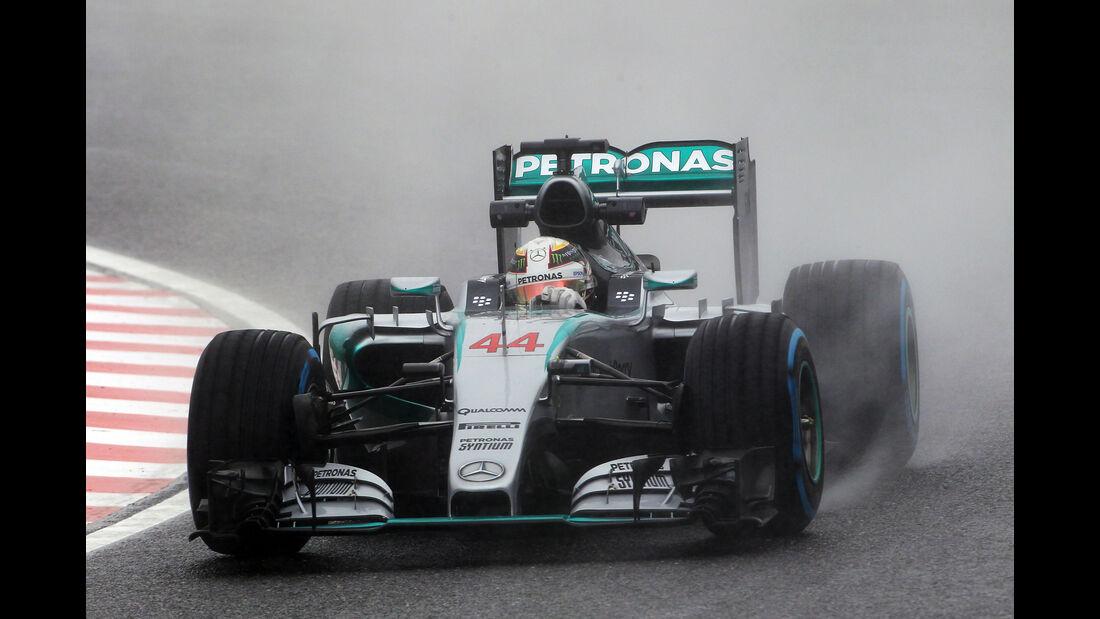 Lewis Hamilton - Mercedes - Formel 1 - GP Japan - Suzuka - 25. September 2015