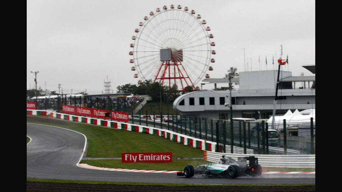 Lewis Hamilton - Mercedes - Formel 1 - GP Japan - Suzuka - 25. September 2015
