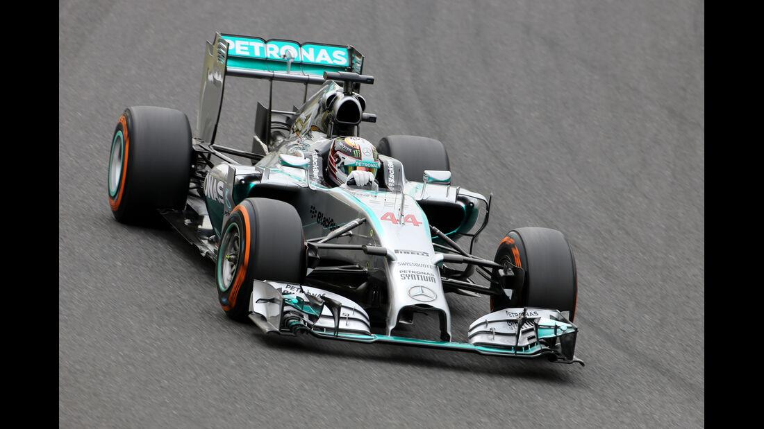 Lewis Hamilton - Mercedes - Formel 1 - GP Japan - Suzuka - 4. Oktober 2014