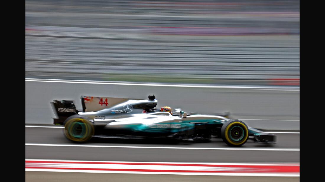 Lewis Hamilton - Mercedes - Formel 1 - GP Japan - Suzuka - 6. Oktober 2017
