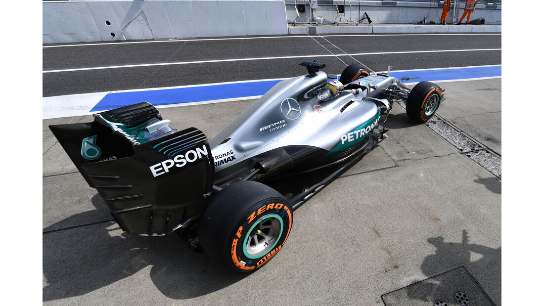 Lewis Hamilton - Mercedes - Formel 1 - GP Japan - Suzuka - Freitag - 7.10.2016