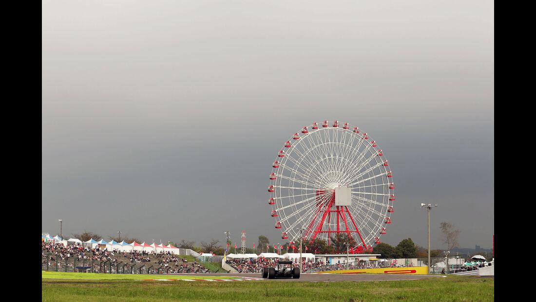 Lewis Hamilton - Mercedes - Formel 1 - GP Japan - Suzuka - Qualifying - Samstag - 8.10.2016