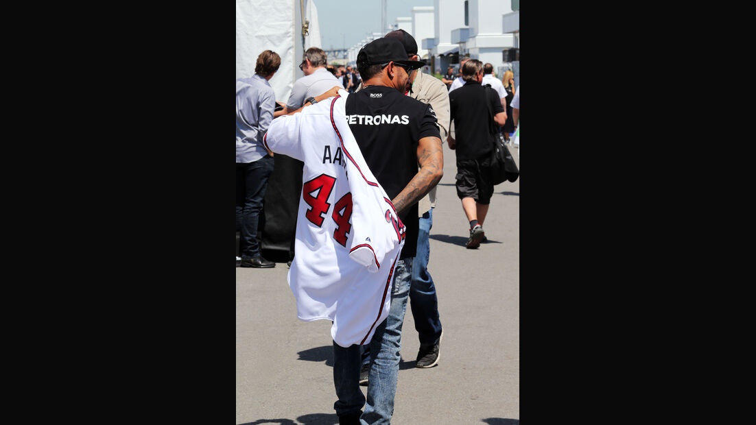 Lewis Hamilton - Mercedes - Formel 1 - GP Kanada - Montreal - 4. Juni 2015