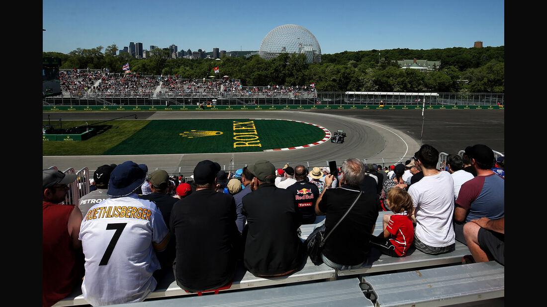 Lewis Hamilton - Mercedes - Formel 1 - GP Kanada - Montreal - 8. Juni 2018