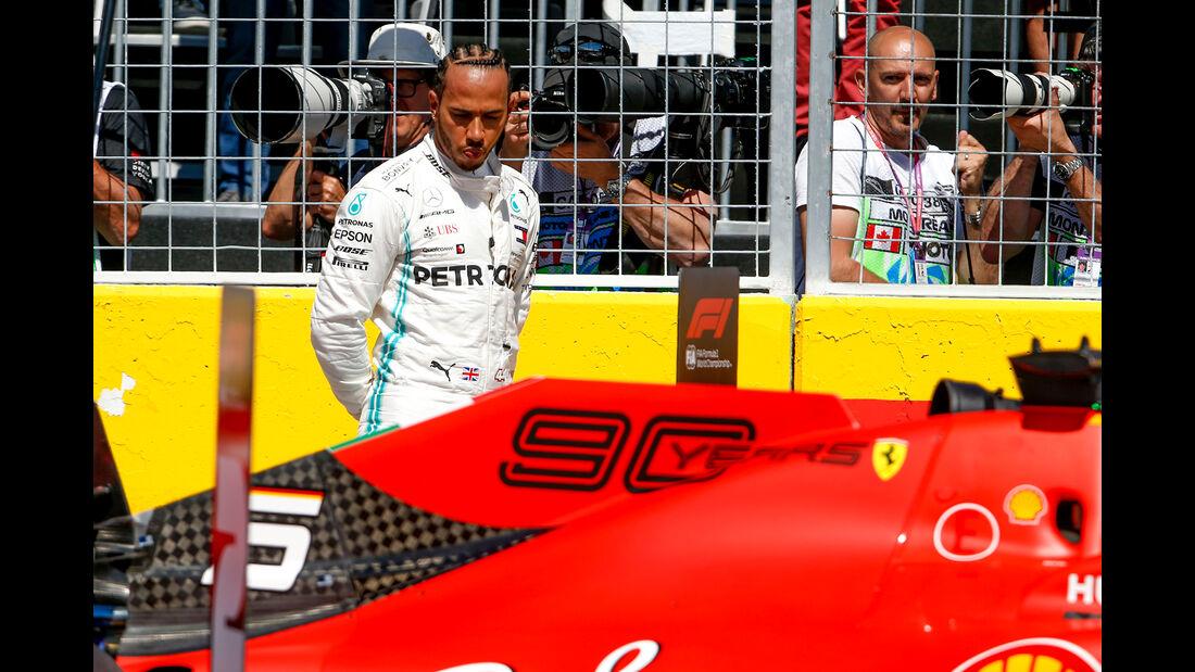 Lewis Hamilton - Mercedes - Formel 1 - GP Kanada - Montreal - 8. Juni 2019