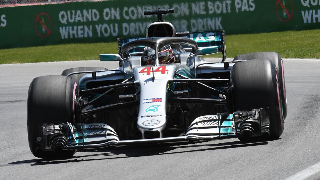 Lewis Hamilton - Mercedes - Formel 1 - GP Kanada - Montreal - 9. Juni 2018