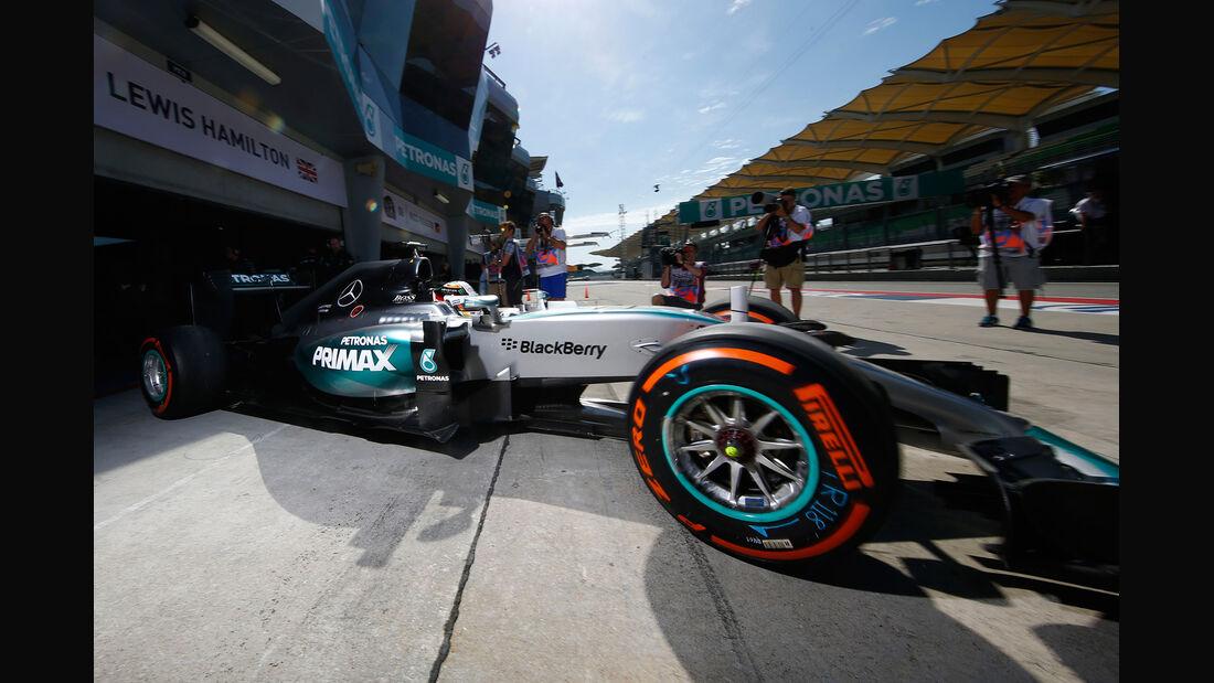 Lewis Hamilton - Mercedes - Formel 1 - GP Malaysia - 28. März 2015