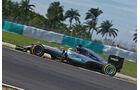 Lewis Hamilton - Mercedes - Formel 1 - GP Malaysia - Freitag - 30.9.2016
