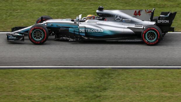 Lewis Hamilton - Mercedes - Formel 1 - GP Malaysia - Sepang - 29. September 2017