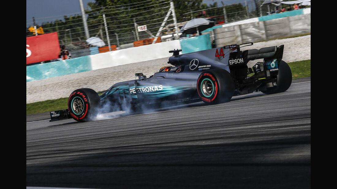 Lewis Hamilton - Mercedes - Formel 1 - GP Malaysia - Sepang - 30. September 2017