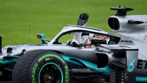 Lewis Hamilton - Mercedes - Formel 1 - GP Mexiko - 25. Oktober 2019