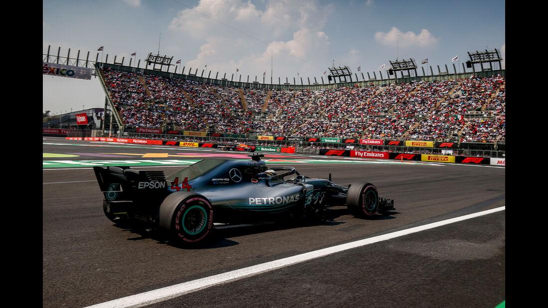 Lewis Hamilton - Mercedes - Formel 1 - GP Mexiko - 26. Oktober 2018